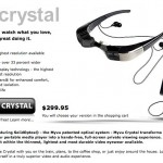 MyVu Crystal Glasses