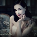 Dita Von Teese for Perrier NSFW