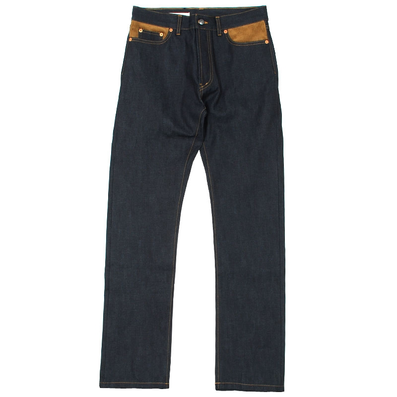 Blue de Paname Carrot Fit Patch Jeans  Blacren.com