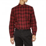 PS By Paul Smith red and Black Plaid Cotton Sweater