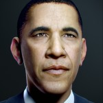Barack Obama Portrait by Jonas Thornqvist