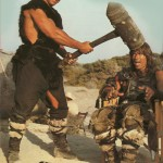 Sven-Ole-Thorsen-and-Arnold-Schwarzenegger-on-the-set-of-Conan-The-Barbarian