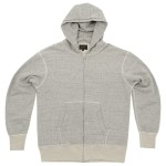 National Anthem Set-In Parkahoody Mid Grey