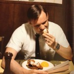 Neil Armstrong Eating His Last-breakfast on-Earth before leaving for the moon