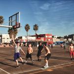 They Playin Basketball