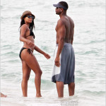 GABRIEL UNION AND DWYANE WADE ENJOY BEACH TIME IN FAMILY WEEKEND
